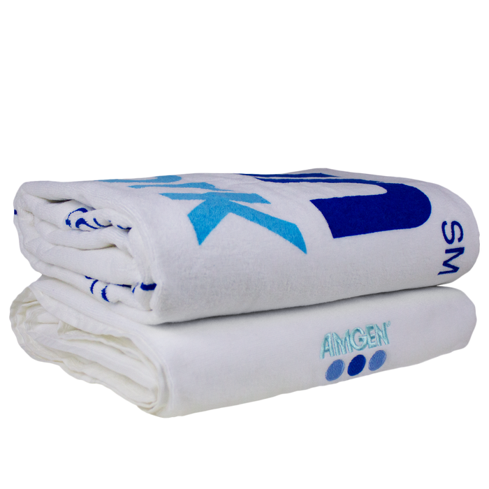 Odyssee White Beach Towel