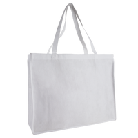 White Convention Tote Plus Thumb