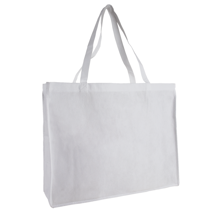 White Convention Tote Plus