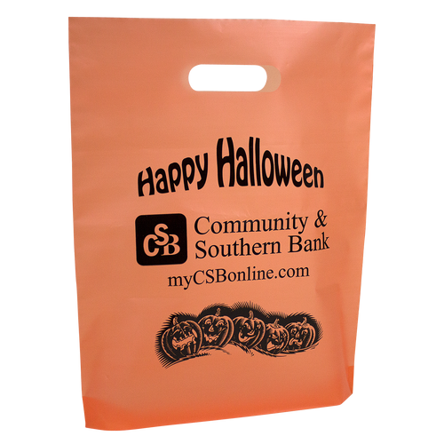 Orange Halloween Bag