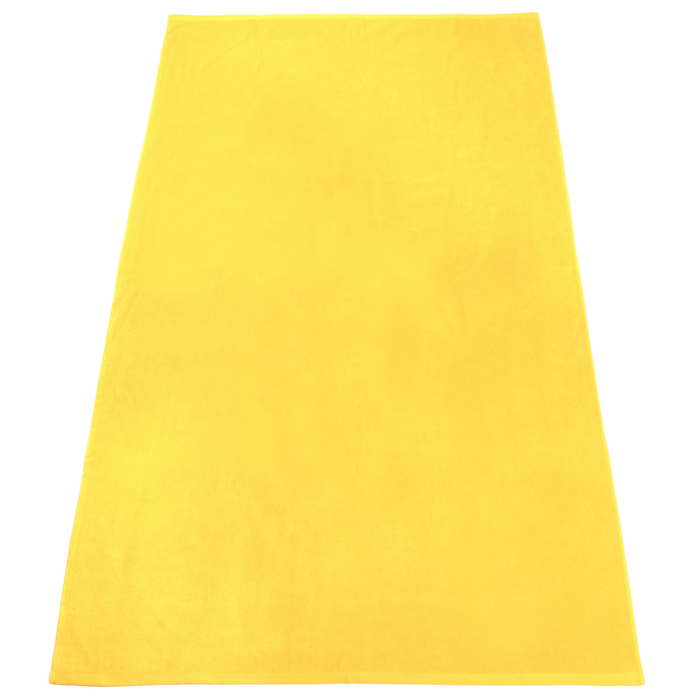 Yellow Nautica Color Beach Towel