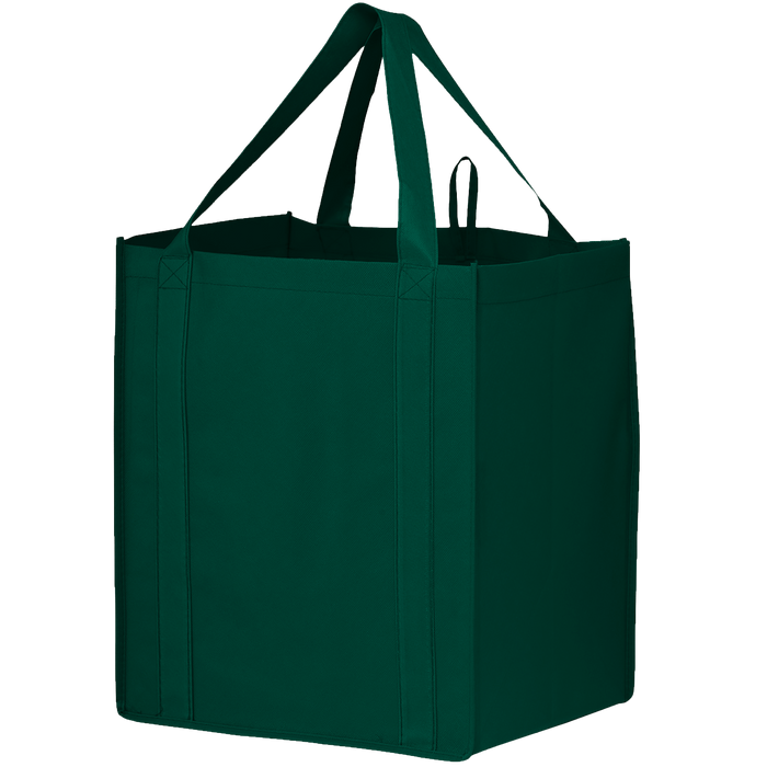 Hunter Green Big Storm Grocery Bag
