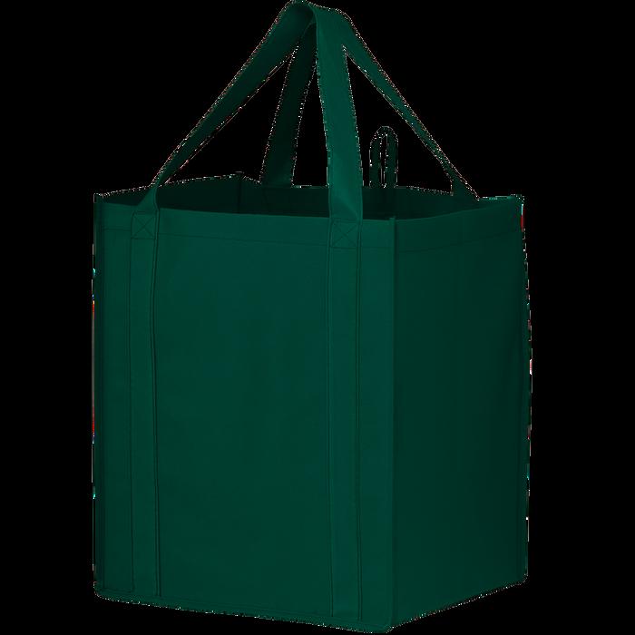 Hunter Green Big Storm Grocery Bag