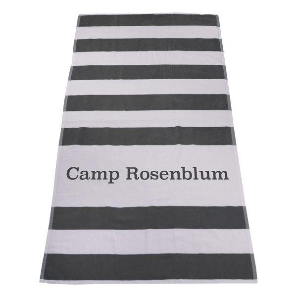 imprinted beach towels,  striped beach towels,