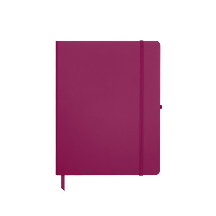Pink Medium Soft Faux Leather Journal