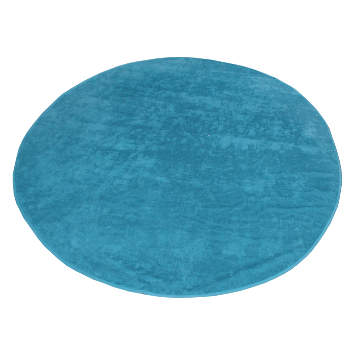 Turquoise Classic Color Round Beach Towel