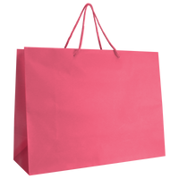 Pink Large Matte Shopper Bag Thumb