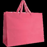 Pink Large Matte Shopper Bag Thumb