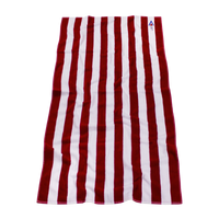 Latitude Striped Beach Towel Thumb