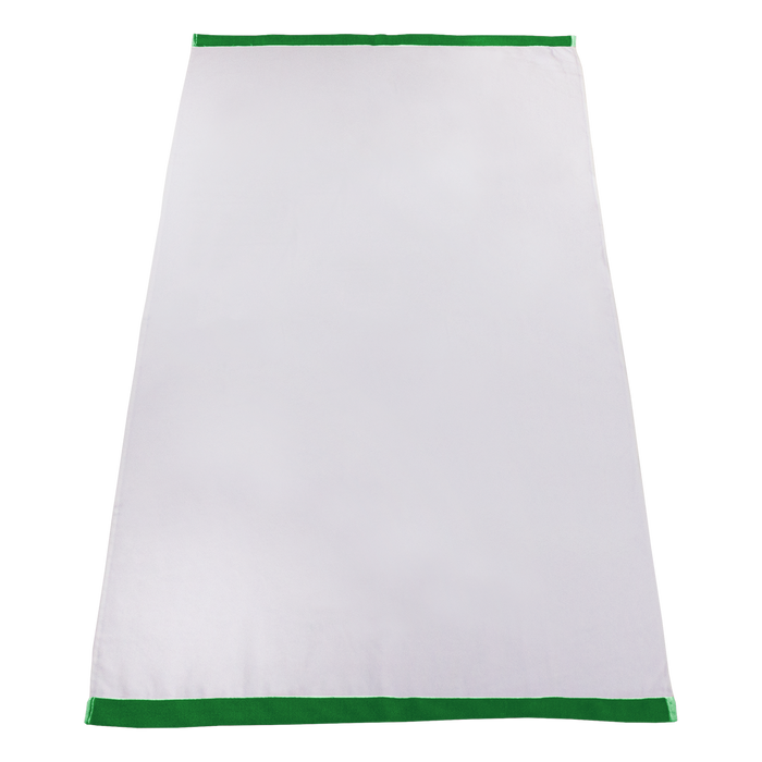 Lime Green Heavyweight Colored Edge Beach Towel
