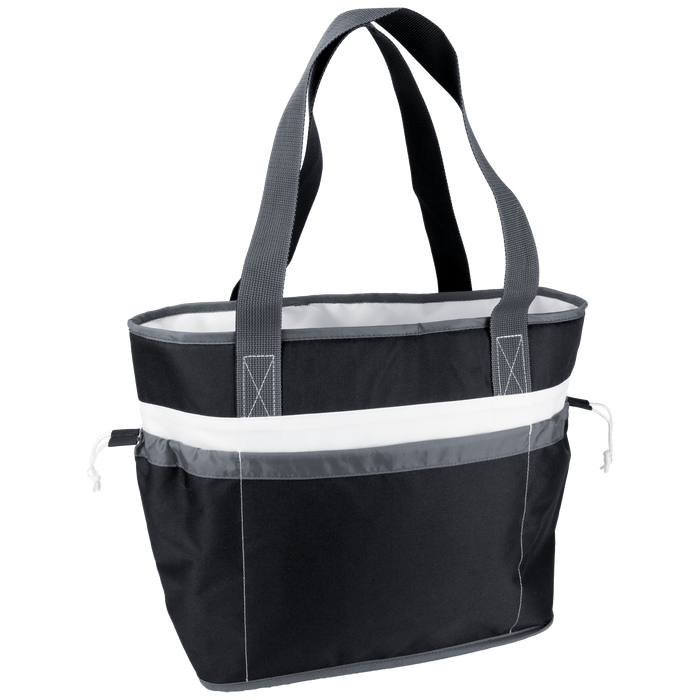 Black Urban Cooler Tote