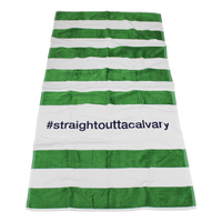 Horizon Striped Beach Towel Thumb