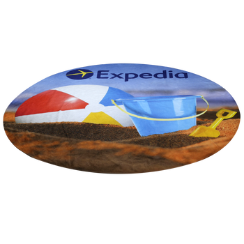 Full Color Round Beach Towel