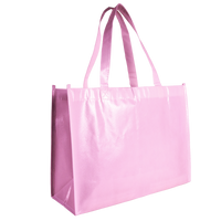 Pink Laminated Convention Tote Thumb