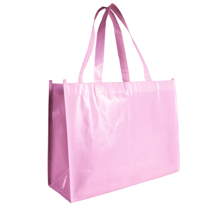 Pink Laminated Convention Tote