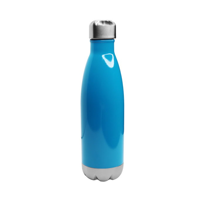 Neon Blue Vacuum Insulated Thermal Bottle
