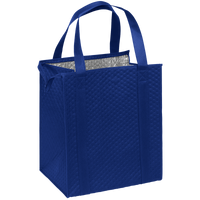 Royal Blue Large Insulated Cooler Tote Thumb