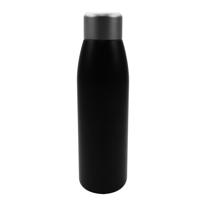 Black UV Sanitizing Insulated Bottle