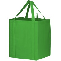 Lime Green Big Storm Grocery Bag Thumb
