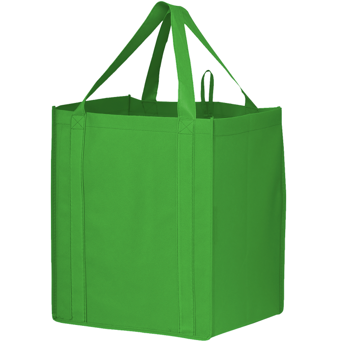 Lime Green Big Storm Grocery Bag