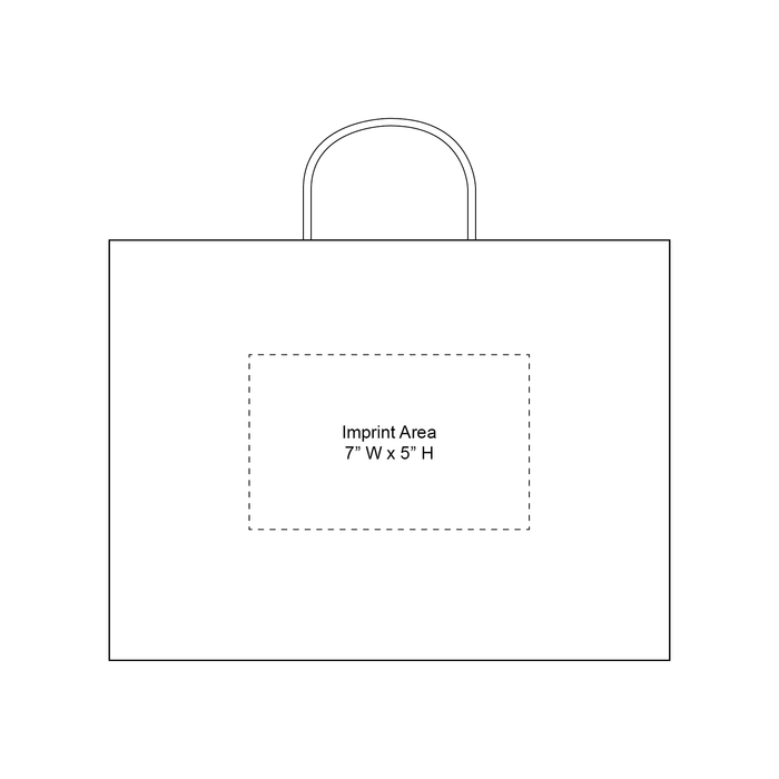 Large Matte Shopper Bag