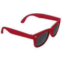 Red Reno Folding Sunglasses Thumb