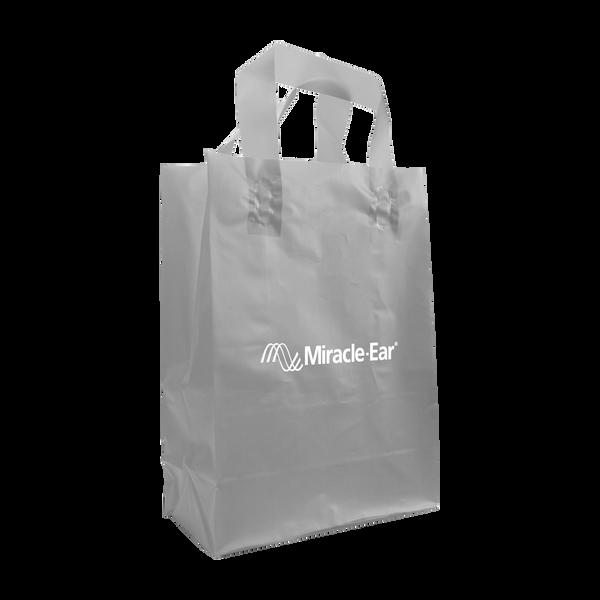 breast cancer awareness bags,  plastic bags,
