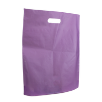 Lavender Large Frosted Die Cut Bag Thumb
