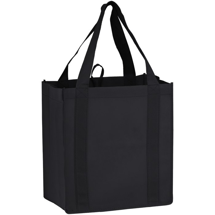 Black Little Storm Grocery Bag