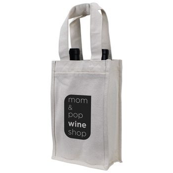 Heavyweight 2 Bottle Wine Tote
