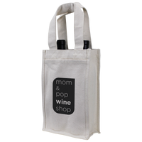 Heavyweight 2 Bottle Wine Tote Thumb