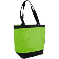 Lime Green Clipper Fashion Tote Bag Thumb