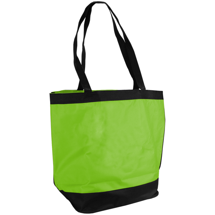 Lime Green Clipper Fashion Tote Bag