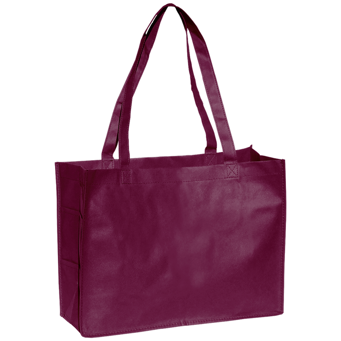 Burgundy Convention Tote