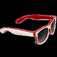 White/Red Daytona Sunglasses Thumb
