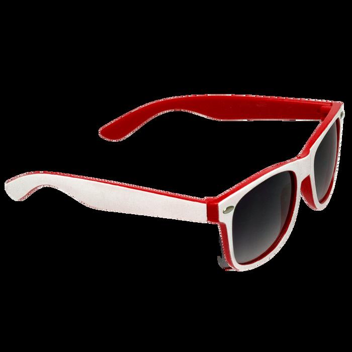 White/Red Daytona Sunglasses