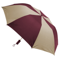 Burgundy/Tan Classic Umbrella Thumb
