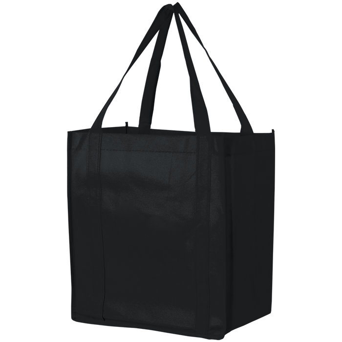 Black Thrifty Grocery Tote