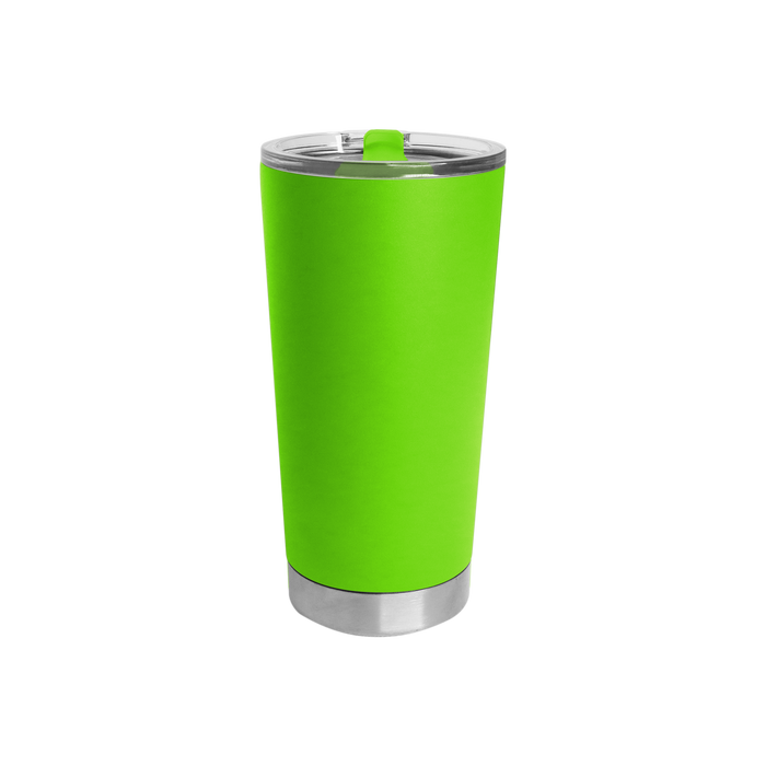 Neon Green Small Stainless Steel Insulated Tumbler