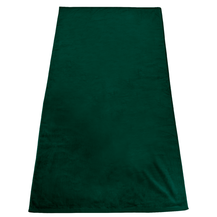 Forest Green Gypsea Color Beach Towel