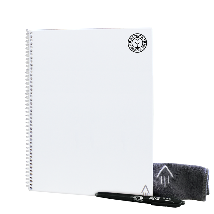 White #OneTreePlanted Rocketbook Core Letter (Everlast)