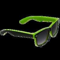 Black/Lime Green Daytona Sunglasses Thumb