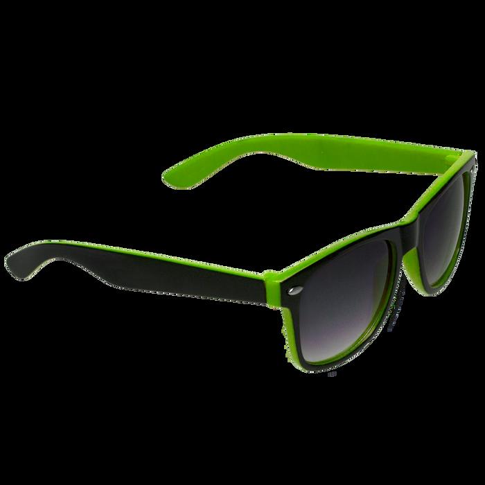 Black/Lime Green Daytona Sunglasses