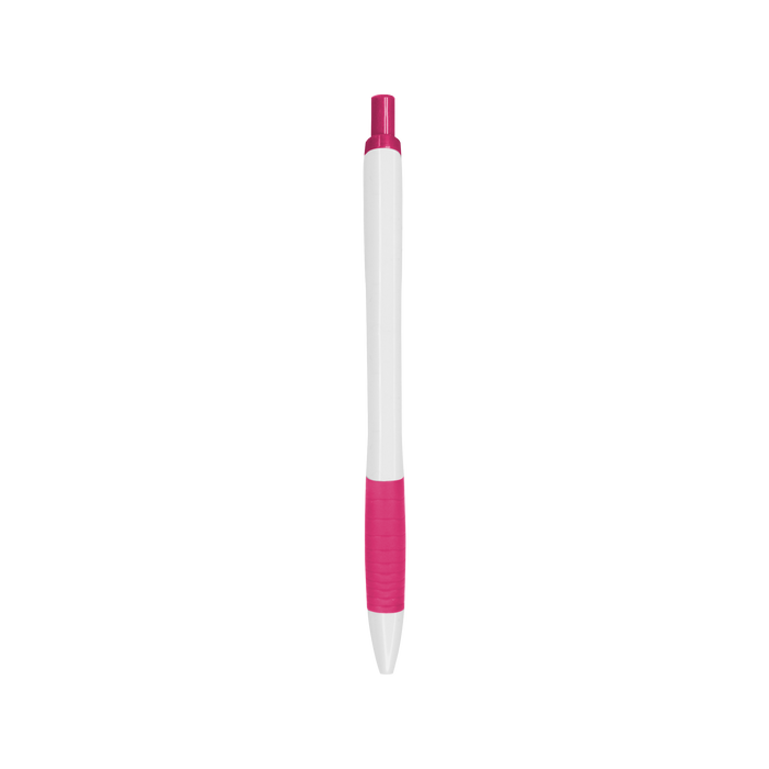Pink with Black Ink Soft Grip Pen