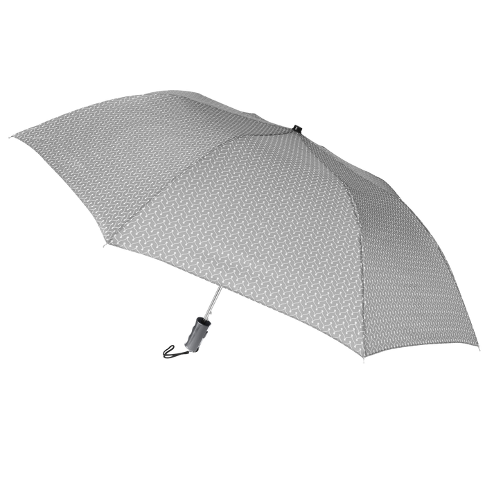 Grey Chevron Andromeda Umbrella