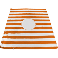 Orange Mainland Beach Blanket Bag Thumb