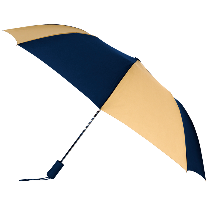 Navy/Tan Atlas Umbrella