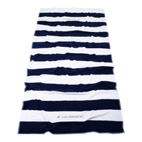 Santa Maria Striped Beach Towel Thumb