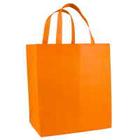 Orange American Made Grocery Bag Thumb