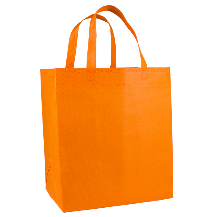 Orange American Made Grocery Bag